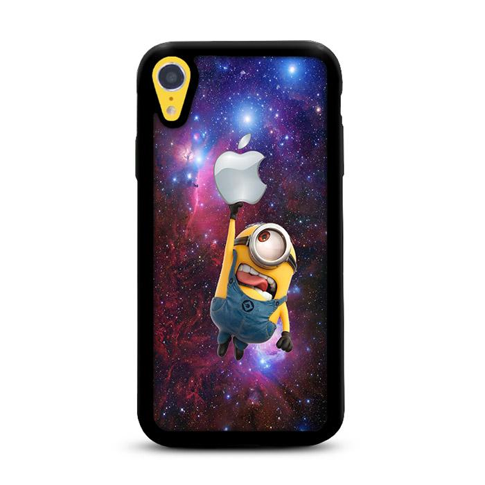 Minion Catch Apple in Galaxy iPhone XR HÜLLE