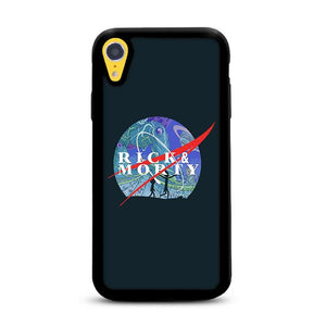 NASA Rick and Morty Galaxy iPhone XR HÜLLE