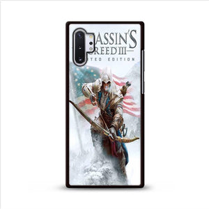 Assassin Creed 3 Poster Samsung Galaxy Note 10 Plus HÜLLE