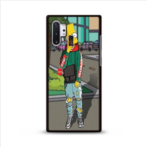 The Simpsons Bart Hypebeast Samsung Galaxy Note 10 HÜLLE