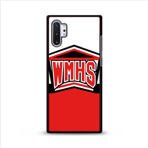 WMHS Glee Cheerleaders Logo Samsung Galaxy Note 10 Plus HÜLLE