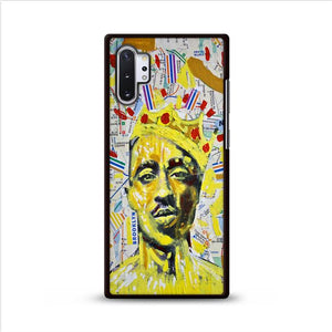 2Pac Tupac Crown NYC MTA Map Samsung Galaxy Note 10 Plus HÜLLE