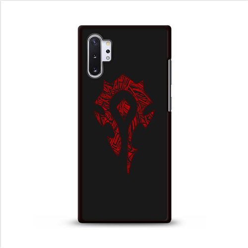 World of Warcraft Tribal Horde Samsung Galaxy Note 10 Plus HÜLLE
