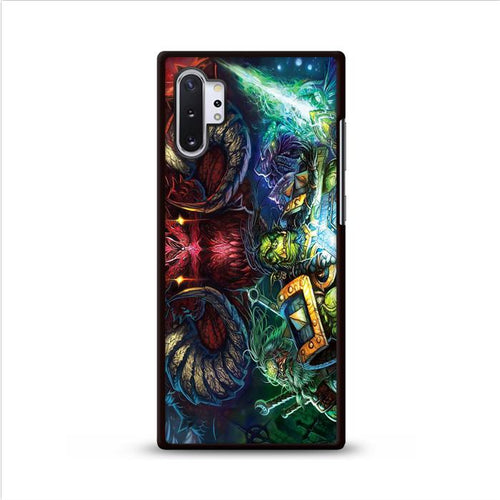 WoW Horns Diablo Deathwing Orcs Samsung Galaxy Note 10 Plus HÜLLE