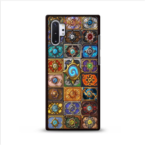 World of Warcraft Hearthstone Jewelry Glass Pendant Samsung Galaxy Note 10 Plus HÜLLE