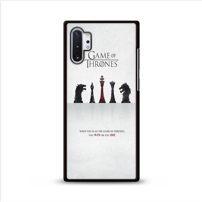 Game of Thrones Win or Die Samsung Galaxy Note 10 Plus HÜLLE