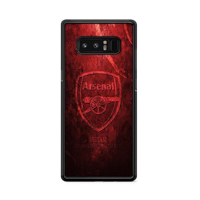 Arsenal Red Samsung Galaxy Note 8 HÜLLE