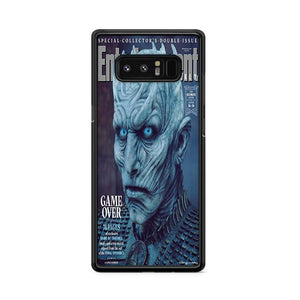 Game of Thrones Season 8 Entertainment Weekly Night King Samsung Galaxy Note 8 HÜLLE