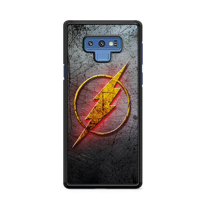 The Flash Metal Logo Samsung Galaxy Note 9 HÜLLE