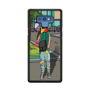 The Simpsons Bart Hypebeast Samsung Galaxy Note 9 HÜLLE