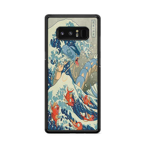 The Great Wave Off Kanto Blue Samsung Galaxy Note 8 HÜLLE