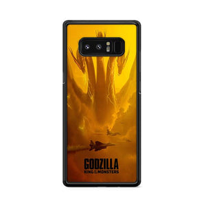 Godzilla King of The Monster King Ghidorah Samsung Galaxy Note 8 HÜLLE