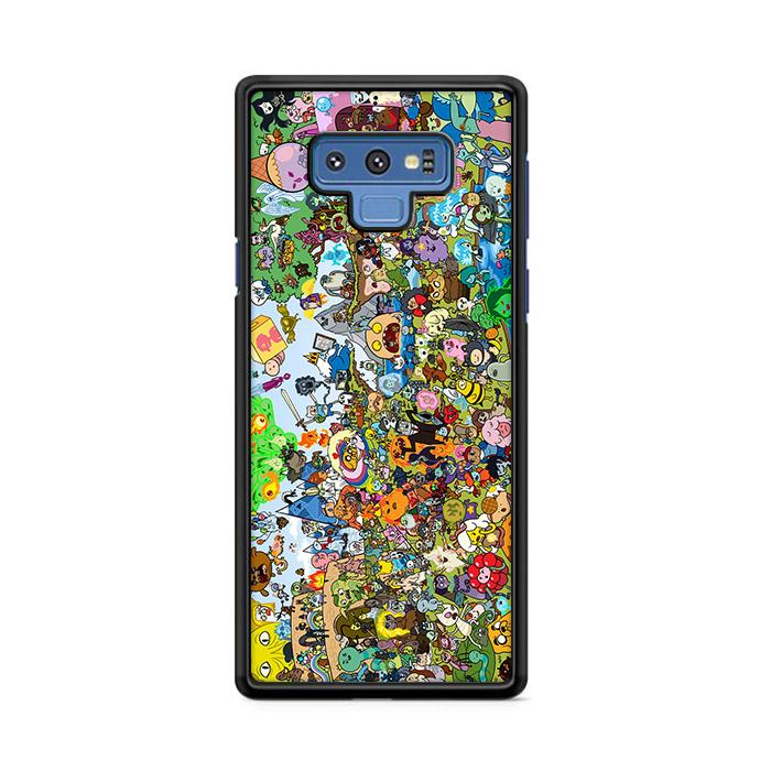 Adventure Time All Characters Samsung Galaxy Note 9 HÜLLE
