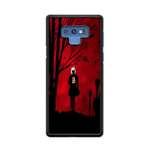 Chilling Adventures of Sabrina Red Samsung Galaxy Note 9 HÜLLE