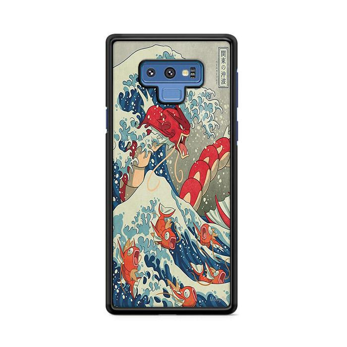 The Great Wave Off Kanto Red Samsung Galaxy Note 9 HÜLLE