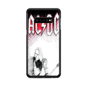 ACDC Band Samsung Galaxy S10 Plus HÜLLE