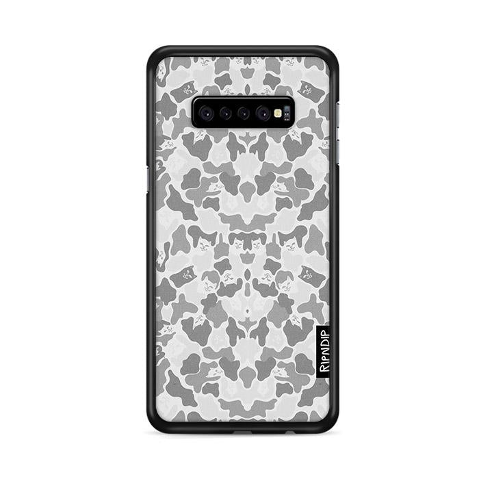 Camo Ripndip Griptape Invisible Grey Samsung Galaxy S10 HÜLLE