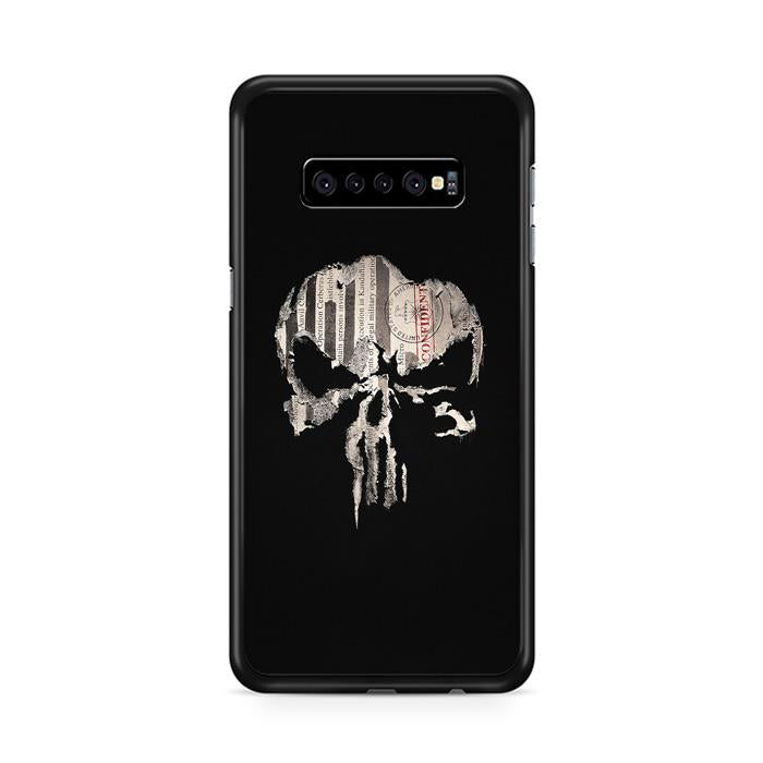 The Punisher Logo Samsung Galaxy S10 Plus HÜLLE