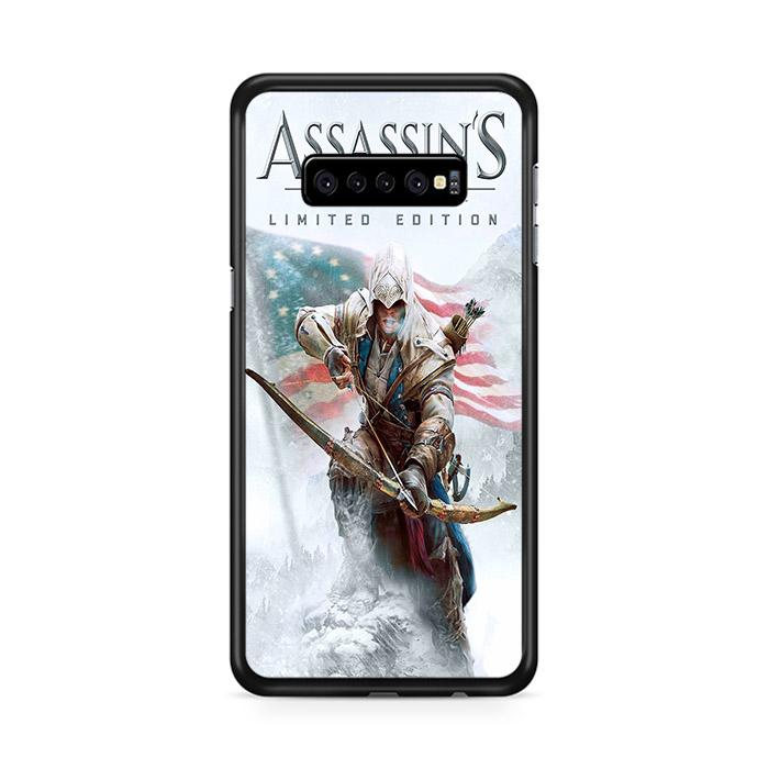Assassin Creed 3 Poster Samsung Galaxy S10 Plus HÜLLE