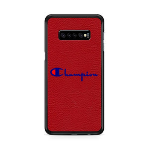 Champion Red Motif Samsung Galaxy S10 Plus HÜLLE