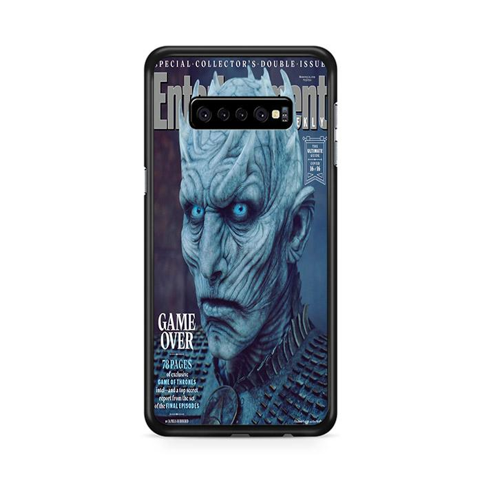 Game of Thrones Season 8 Entertainment Weekly Night King Samsung Galaxy S10 HÜLLE
