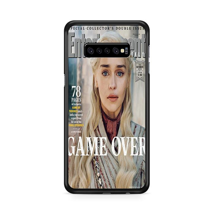 Game of Thrones Season 8 Entertainment Weekly Targaryen Samsung Galaxy S10e HÜLLE