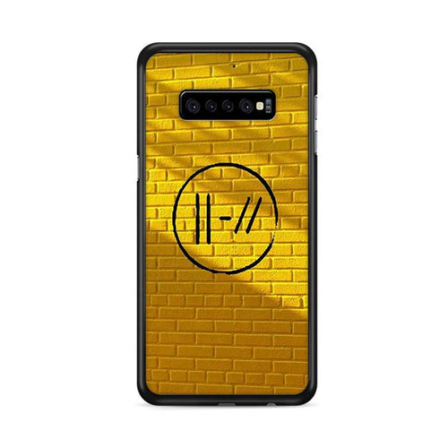 Yellow Twenty One Pilots Samsung Galaxy S10 Plus HÜLLE