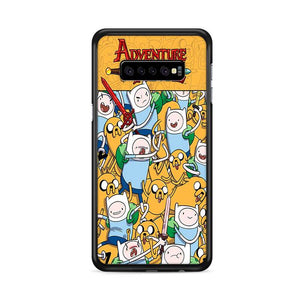 Adventure Time Comic Samsung Galaxy S10 HÜLLE