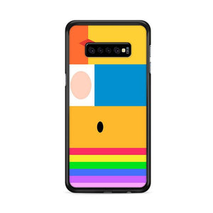 Adventure Time Minimalist Samsung Galaxy S10 HÜLLE