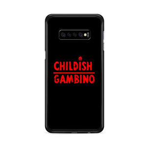 Childish Gambino Logo Samsung Galaxy S10 Plus HÜLLE
