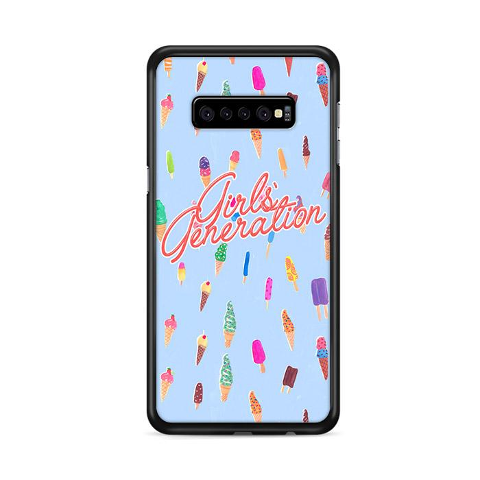 Girls Generation SNSD Ice Cream Samsung Galaxy S10 Plus HÜLLE