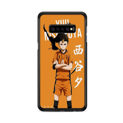Yuu Nishinoya Haikyuu!! Samsung Galaxy S10 Plus HÜLLE