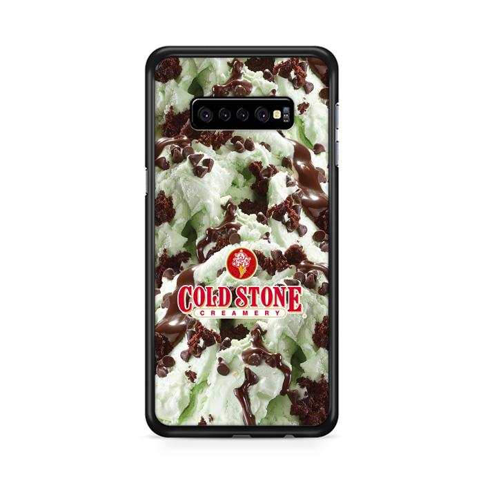 Cold Stone Matcha Choco Chips Ice Cream Samsung Galaxy S10 Plus HÜLLE
