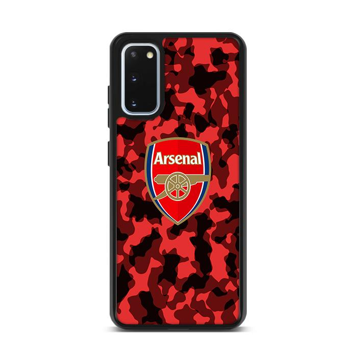Arsenal FC Red Camo Camouflage Samsung Galaxy S20 Plus HÜLLE