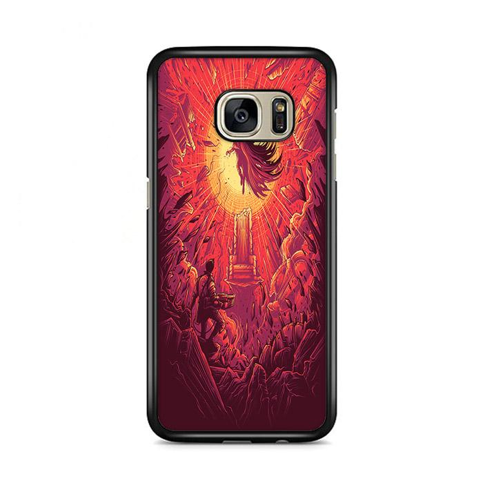 Akira Good For Health Bad For Education Dan Mumford Samsung Galaxy S7 Edge HÜLLE