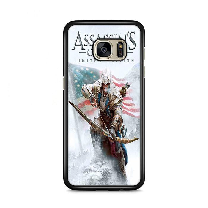 Assassin Creed 3 Poster Samsung Galaxy S7 Edge HÜLLE