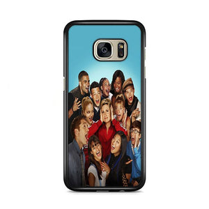 Glee Promo Cast Photos Samsung Galaxy S7 Edge HÜLLE