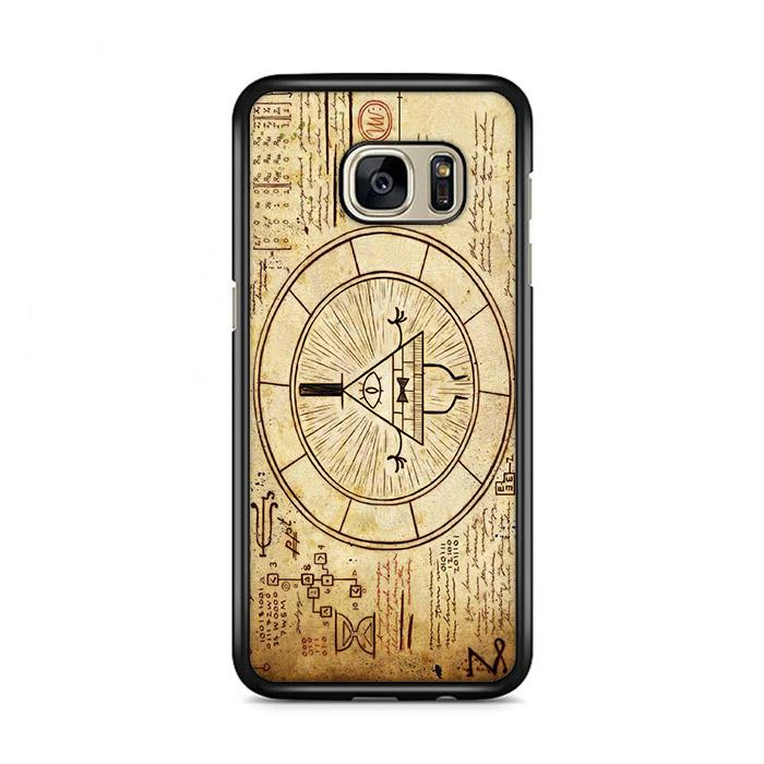 The Gravity Falls Intrigue Triangle Eye Samsung Galaxy S7 HÜLLE