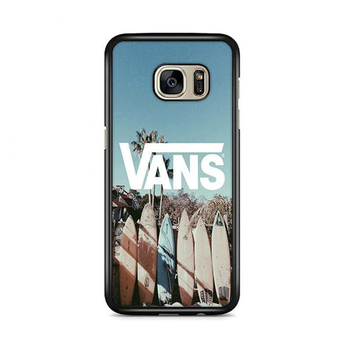 Vans Surfing Beach Samsung Galaxy S7 Edge HÜLLE