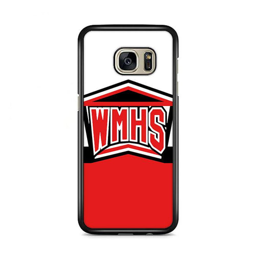 WMHS Glee Cheerleaders Logo Samsung Galaxy S7 Edge HÜLLE