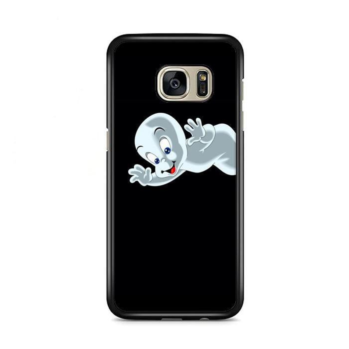 Casper Cute Ghost Cartoon Samsung Galaxy S7 Edge HÜLLE