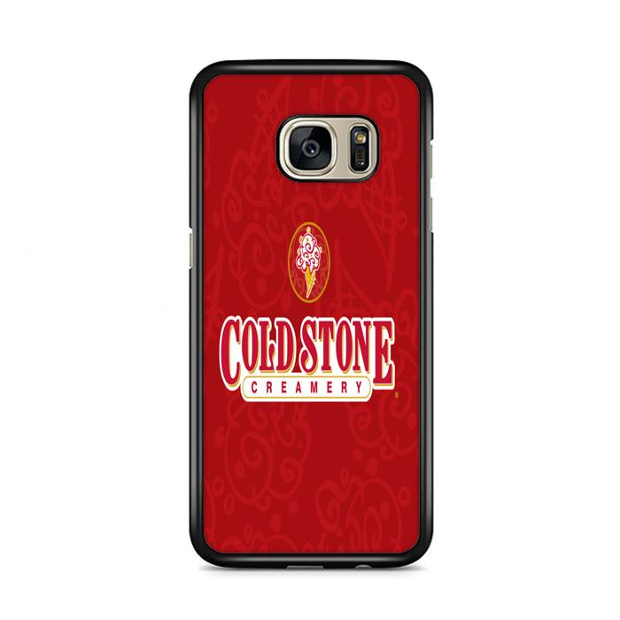Cold Stone Creamery Red Wallpaper Samsung Galaxy S7 Edge HÜLLE