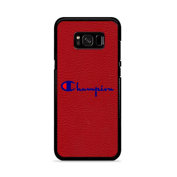 Champion Red Motif Samsung Galaxy S8 HÜLLE