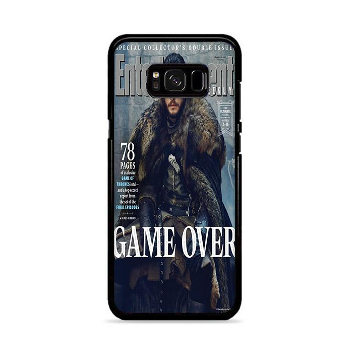 Game of Thrones Season 8 Entertainment Weekly Jon Snow Samsung Galaxy S8 Plus HÜLLE