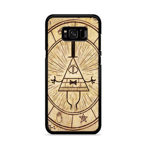 The Gravity Falls Intrigue Triangle Eye Wallpaper Samsung Galaxy S8 Plus HÜLLE