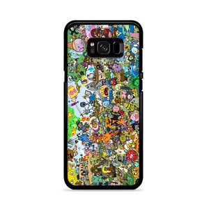Adventure Time All Characters Samsung Galaxy S8 HÜLLE