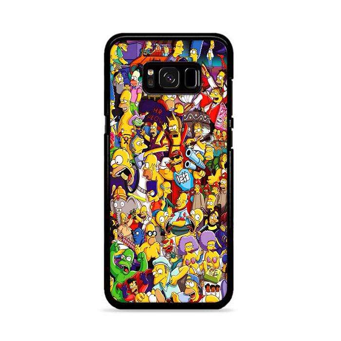All Simpson Characters Samsung Galaxy S8 Plus HÜLLE