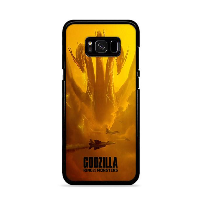 Godzilla King of The Monster King Ghidorah Samsung Galaxy S8 HÜLLE