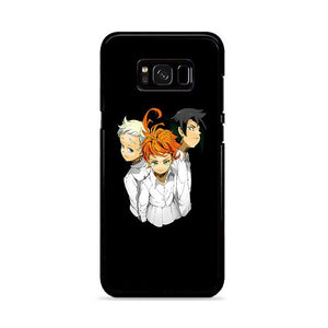 The Promised Neverland Yakusoku No Neverland Black Samsung Galaxy S8 HÜLLE