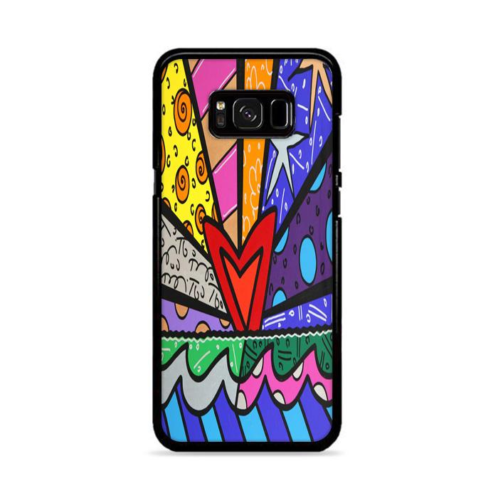 Art Britto Love Samsung Galaxy S8 HÜLLE